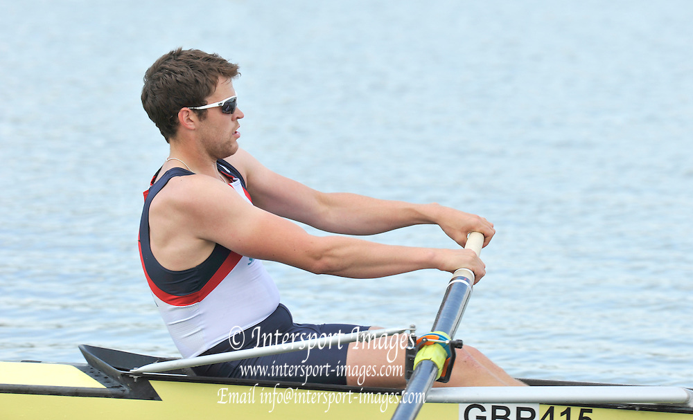 Caversham, Great Britain.  Daniel RITCHIE. GB Rowing media day, GB Rowing Training Centre, Caversham. Tuesday,  18/05/2010 [Mandatory Credit. Peter Spurrier/Intersport Images]