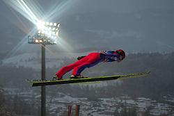 06.01.2012, Paul Ausserleitner Schanze, Bischofshofen, AUT, 60. Vierschanzentournee, FIS Ski Sprung Weltcup, 1. Wertungssprung, im Bild Dawid Kubacki (POL) // Dawid Kubacki of Poland during 1st Round of 60th Four-Hills-Tournament FIS World Cup Ski Jumping at Paul Ausserleitner Schanze, Bischofshofen, Austria on 2012/01/06. EXPA Pictures © 2012, PhotoCredit: EXPA/ Johann Groder