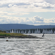 F&aelig;rder 02<br /> Axel Nissen-Lie<br /> Oslofjorden<br /> Start<br /> tett felt