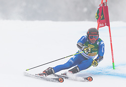 Giulio Giovanni Bosca of Italy during 1st run of Men's Giant Slalom race of FIS Alpine Ski World Cup 57th Vitranc Cup 2018, on 3.3.2018 in Podkoren, Kranjska gora, Slovenia. Photo by Urban Meglič / Sportida