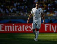 Steven Gerrard of England during the 2014 FIFA World Cup match at Mineir&atilde;o, Belo Horizonte, Brazil. <br /> Picture by Andrew Tobin/Focus Images Ltd +44 7710 761829<br /> 24/06/2014