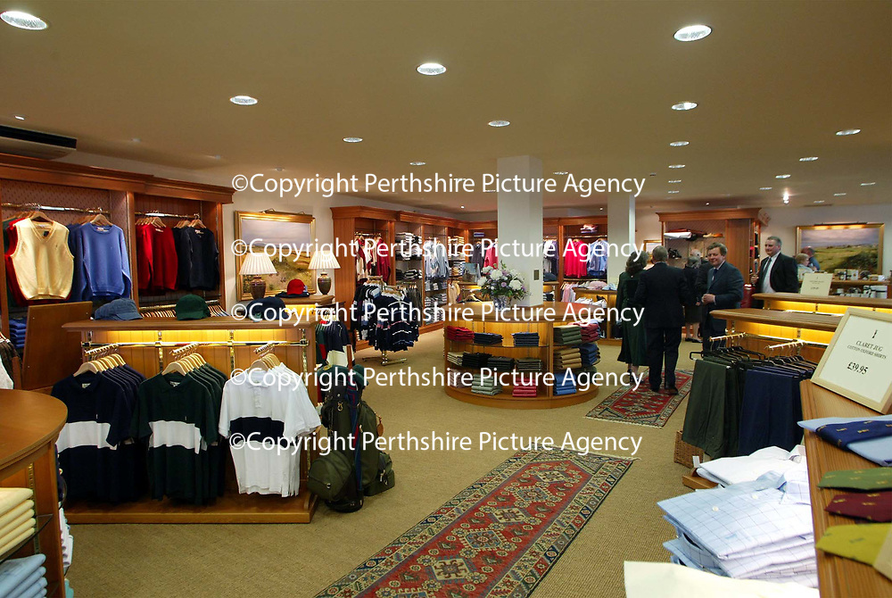 Golf St Andrews shop, a joint venture between the House of Bruar and the R&amp;A<br />