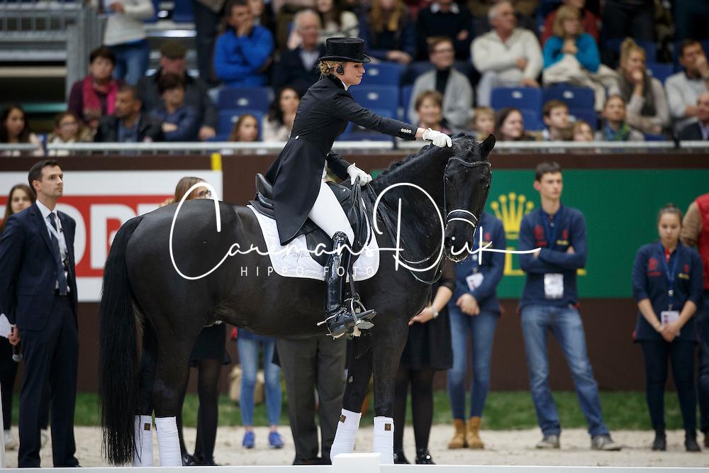Barbancon Mestre Morgan, (ESP), Painted Black <br /> Farewell Painted Black<br /> Genève 2015<br /> © Hippo Foto - Dirk Caremans<br /> 11/12/15