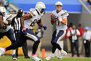 San Diego Chargers quarterback Philip Rivers (17) during an NFL game against the Jacksonville Jaguars at EverBank Field on Oct. 20, 2013 in Jacksonville, Florida. San Diego won 24-6.<br /> <br /> ©2013 Scott A. Miller