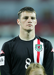 WARSAW, POLAND - WEDNESDAY, SEPTEMBER 7th, 2005: Wales' Jason Koumas lines up before the World Cup Group Six Qualifying match against Poland at the Legia Stadium. (Pic by David Rawcliffe/Propaganda)