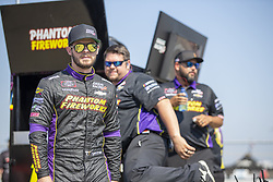 July 13, 2018 - Sparta, Kentucky, United States of America - Ryan Truex (11) gets ready to qualify for the Alsco 300 at Kentucky Speedway in Sparta, Kentucky. (Credit Image: © Stephen A. Arce/ASP via ZUMA Wire)
