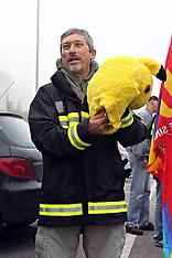20131018 SIT-IN DI PROTESTA VIGILI DEL FUOCO