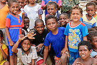 Group of children, Rurbas, West Papua, Indonesia. Group of children, Rurbas, West Papua, Indonesia.