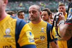 Jaba Bregvadze of Worcester Warriors looks dejected after Saracens win the match - Rogan Thomson/JMP - 03/09/2016 - RUGBY UNION - Twickenham Stadium - London, England - Saracens v Worcester Warriors - Aviva Premiership London Double Header.