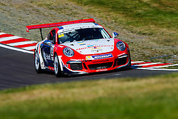 Dino Zamparelli finishes in 3rd | GT Marques | #88 Porsche 911 GT3 Cup | Porsche Carrera Cup GB | Race 2 - Mandatory byline: Rogan Thomson/JMP - 05/06/2016 - MOTORSPORT - Oulton Park Circuit - Little Budworth, England - BTCC Meeting Day 2.