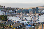 Newhaven Harbour  seen during the Festival of Sound 2016 at Newhaven Fort 09 September 20161800-2300