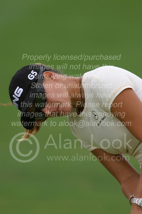 30 Aug 2005<br /> <br /> Paula Marti.<br /> <br /> State Farm Classic, LPGA Golf Tournament, Tuesday Practice, The Rail Golf Course, Springfield, IL
