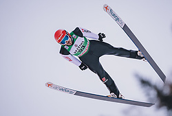 11.01.2020, Stadio del Salto, Predazzo, ITA, FIS Weltcup Nordische Kombination, Skisprung, im Bild Fabian Riessle (GER) // Fabian Riessle (GER) during Skijumping Competition of FIS Nordic Combined World Cup at the Stadio del Salto in Predazzo, Italy on 2020/01/11. EXPA Pictures © 2020, PhotoCredit: EXPA/ JFK