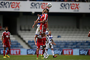 David Davis during the EFL Sky Bet Championship match between Queens Park Rangers and Birmingham City at the Loftus Road Stadium, London, England on 24 September 2016. Photo by Jarrod Moore.