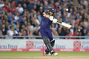 Yorkshires Adam Lyth during the Vitality T20 Blast North Group match between Lancashire County Cricket Club and Yorkshire County Cricket Club at the Emirates, Old Trafford, Manchester, United Kingdom on 20 July 2018. Picture by George Franks.