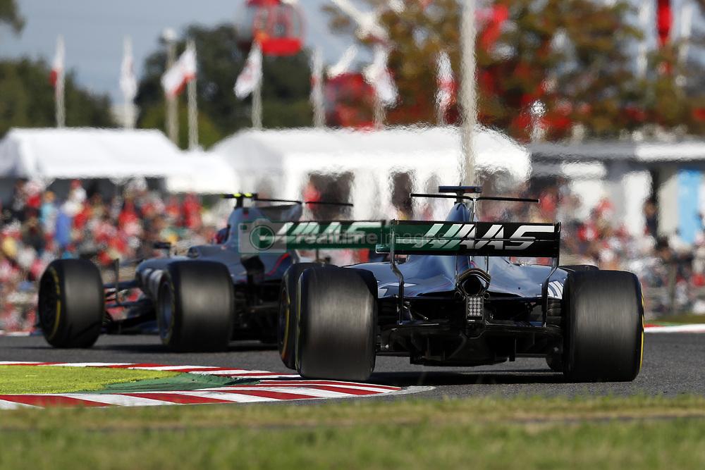 October 8, 2017 - Suzuka, Japan - Motorsports: FIA Formula One World Championship 2017, Grand Prix of Japan, .#8 Romain Grosjean (FRA, Haas F1 Team) (Credit Image: © Hoch Zwei via ZUMA Wire)