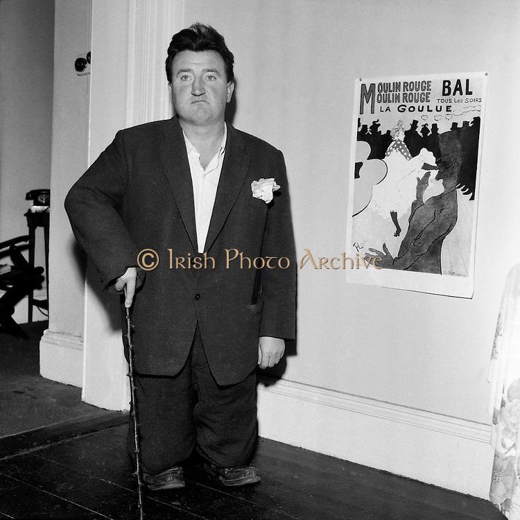 Brendan Beehan Portrait.10.08.1960