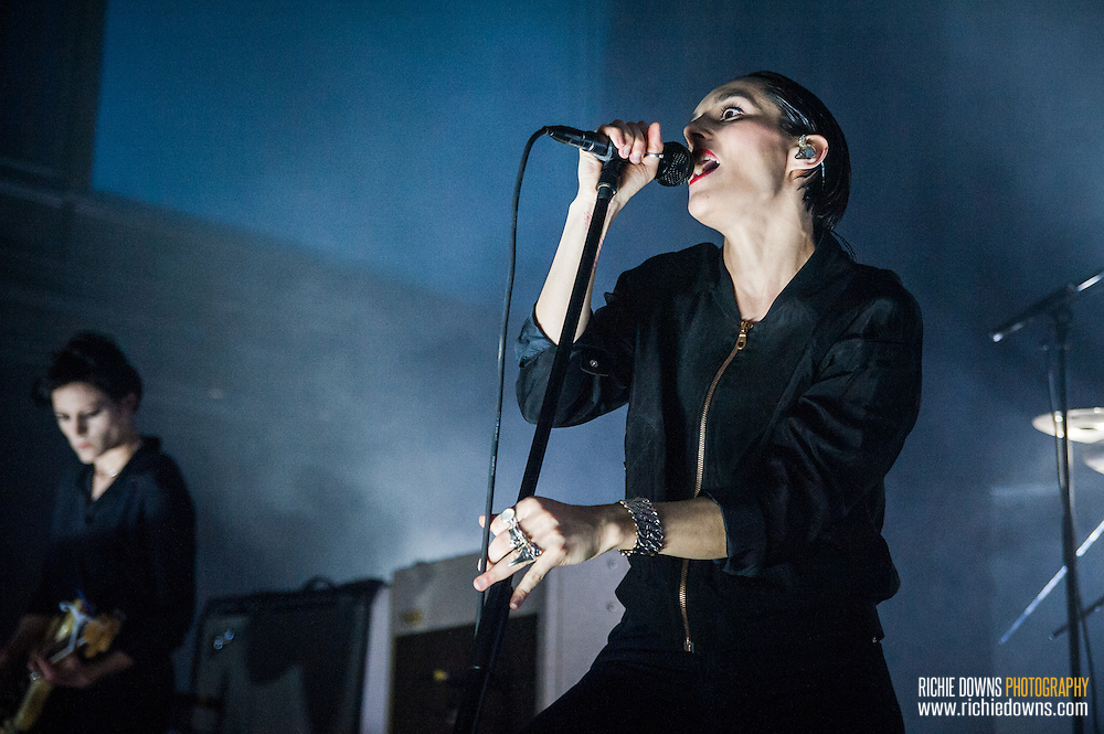 Savages perform at 930 Club in Washington, DC on 03/27/2016 (Photos Copyright © Richie Downs).