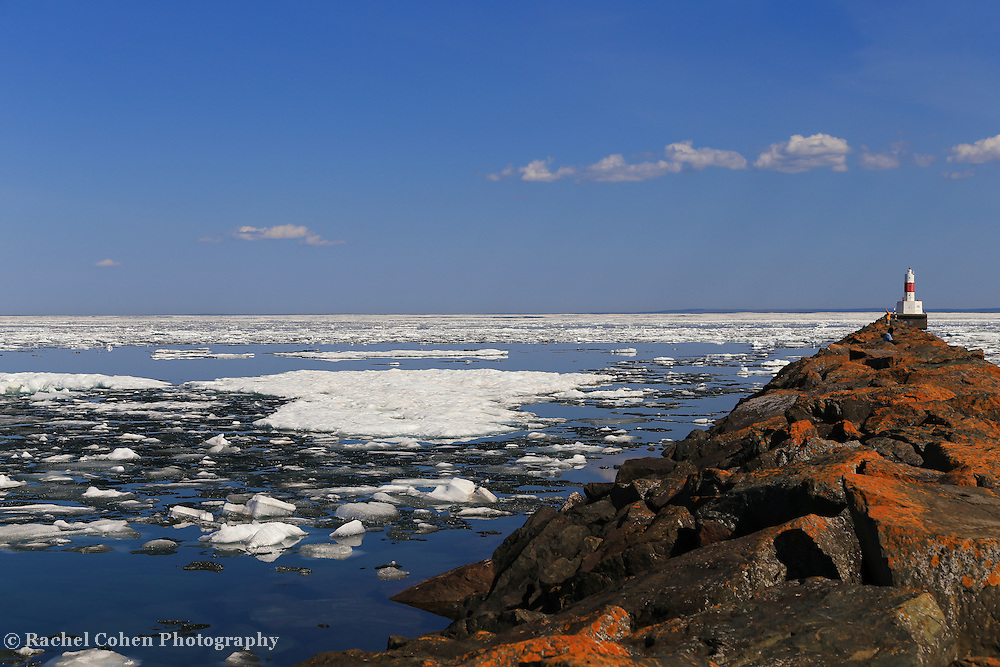 &quot;Presque Isle Harbor on Ice&quot;<br />