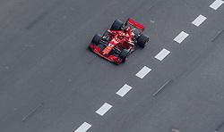 April 29, 2018 - Baku, Azerbaijan - Sebastian Vettel of Germany and Scuderia Ferrari driver goes during the race at Azerbaijan Formula 1 Grand Prix on Apr 29, 2018 in Baku, Azerbaijan. (Credit Image: © Robert Szaniszlo/NurPhoto via ZUMA Press)