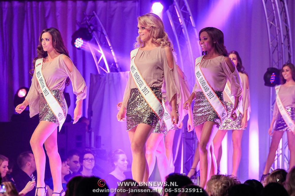 NLD/Bunnik/20121210 - Finale Miss Nederland 2013, jury, Monique Collignon en Fred van Leer