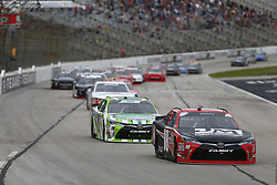 November 3, 2018 - Ft. Worth, Texas, United States of America - Ryan Preece (18) battles for position during the O'Reilly Auto Parts Challenge at Texas Motor Speedway in Ft. Worth, Texas. (Credit Image: © Justin R. Noe Asp Inc/ASP via ZUMA Wire)