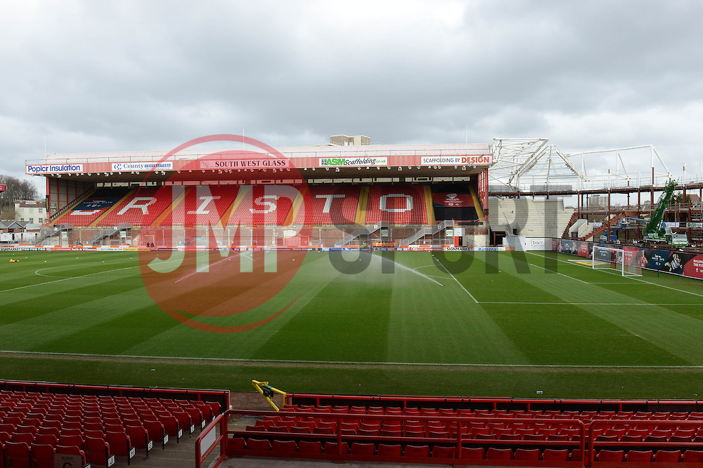 - Photo mandatory by-line: Dougie Allward/JMP - Mobile: 07966 386802 - 28/02/2015 - SPORT - football - Bristol - Ashton Gate - Bristol City v Rochdale AFC - Sky Bet League One