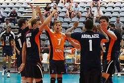 09-09-2012 VOLLEYBAL: EK KWALIFICATIE 2013 NEDERLAND - ISRAEL : KORTRIJK <br /> Nederland wint met 3-0 van Israel, na een moeizame start, toch wel een makkelijke overwinning<br /> ©2012-FotoHoogendoorn.nl / Pim Waslander