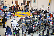 12/8/13 12:28:13 PM -- Albuquerque NM  --Presentation of supplies for Operation Comfort Warriors gifts to the Raymond G. Murphy VA Medical Center in Albuquerque, N.M..<br /> <br />  --    Photo by Steven St John