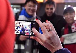 Les Coulisses, Behind the scenes, Tony Estanguet at PyeongChang2018 Winter Paralympic Games, South Korea.