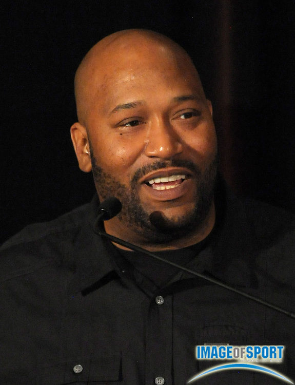 Mar 30, 2012; Austin, TX, USA; Recording artist Bun B at the 6th annual Minority Mentorship Symposium at the AT&T Executive Education and Conference Center.
