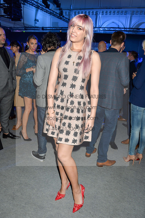 AMBER LE BON at the Maserati Levante VIP Launch party held at the Royal Horticultural Halls, Vincent Square, London on 26th May 2016.