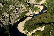France, Languedoc Roussillon, Gard (30), région Uzès, Gorges du Gardon