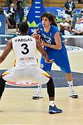 DESCRIZIONE : Trento Nazionale Italia Uomini Trentino Basket Cup Italia Germania Italy Germany <br /> GIOCATORE : Amedeo Della Valle<br /> CATEGORIA : tecnica<br /> SQUADRA : Italia Italy<br /> EVENTO : Trentino Basket Cup<br /> GARA : Italia Germania Italy Germany<br /> DATA : 01/08/2015<br /> SPORT : Pallacanestro<br /> AUTORE : Agenzia Ciamillo-Castoria/GiulioCiamillo<br /> Galleria : FIP Nazionali 2015<br /> Fotonotizia : Trento Nazionale Italia Uomini Trentino Basket Cup Italia Germania Italy Germany