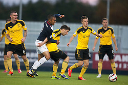 Falkirk's Phil Roberts.<br /> Falkirk 4 v 1 Livingston, Scottish Championship game played today at the Falkirk Stadium.<br /> &copy;Michael Schofield.