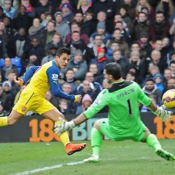Crystal Palace v Arsenal   Premier League   21 February 2015
