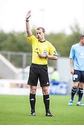 Ref Willie Collum.<br /> Falkirk 3 v 1 Dundee, 21/9/2013.<br /> &copy;Michael Schofield.