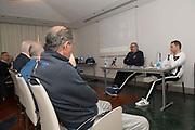 panoramica<br /> Nazionale Italiana Maschile Senior - Conferenza Stampa Presentazione Italia - Romania<br /> FIP 2017<br /> Torino, 23/11/2017<br /> Foto M.Ceretti / Ciamillo-Castoria