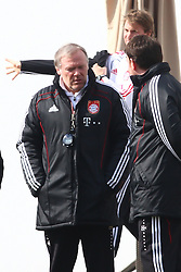 06.03.2011, Trainingsgelaende, Muenchen, GER, 1.FBL, Training FC Bayern Muenchen , im Bild Hermann Gerland (Co-Trainer Bayern)  , EXPA Pictures © 2011, PhotoCredit: EXPA/ nph/  Straubmeier       ****** out of GER / SWE / CRO  / BEL ******