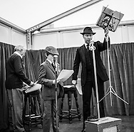 Goodwood Revival 2015 - serious audion going on here in the Mess. I auditioned and... GOT THE PART