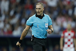 referee Nestor Pitana during the 2018 FIFA World Cup Russia Final match between France and Croatia at the Luzhniki Stadium on July 15, 2018 in Moscow, Russia