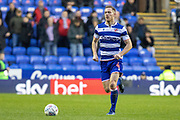 Michael Morrison (4) of Reading during the EFL Sky Bet Championship match between Reading and Derby County at the Madejski Stadium, Reading, England on 21 December 2019.