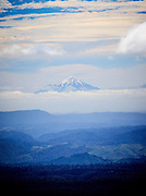 Mount Egmont/Taranaki seen from Mt Ruapehu (around 150KM away).