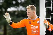 12-07-2016: Voetbal: Jong FC Utrecht v Jong Roda JC: Utrecht<br /> <br /> Keeper Meendering van FC Utrecht<br /> <br /> De eerste thuiswedstrijd van de oefencampagne van Jong FC Utrecht . De Jupiler League-ploeg van trainer/coach Robin Pronk won op Sportcomplex Zoudenbalch met 3-2 van de beloftenformatie van Roda JC Kerkrade<br /> <br /> Foto: Gertjan Kooij