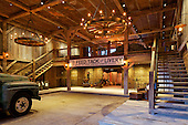 Redstone Ranch Barn, Old Snowmass, Co, lighting design by Lacroux Streeb