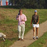 Paparazzi fotograaf Edwin Smulders en vriendin fotomodel Anouk Voorveld