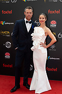 Rodger Corser and Renae Berry at The 2018 Australian Academy of Cinema and Television Arts (AACTA) Awards at The Star in Sydney, Australia