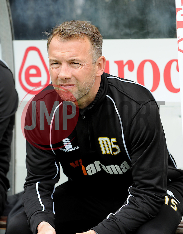 Bristol Rovers assistant manager, Marcus Stewart - Photo mandatory by-line: Neil Brookman/JMP - Mobile: 07966 386802 - 03/05/2015 - SPORT - Football - Bristol - Memorial Stadium - Bristol Rovers v Forest Green Rovers - Vanarama Football Conference