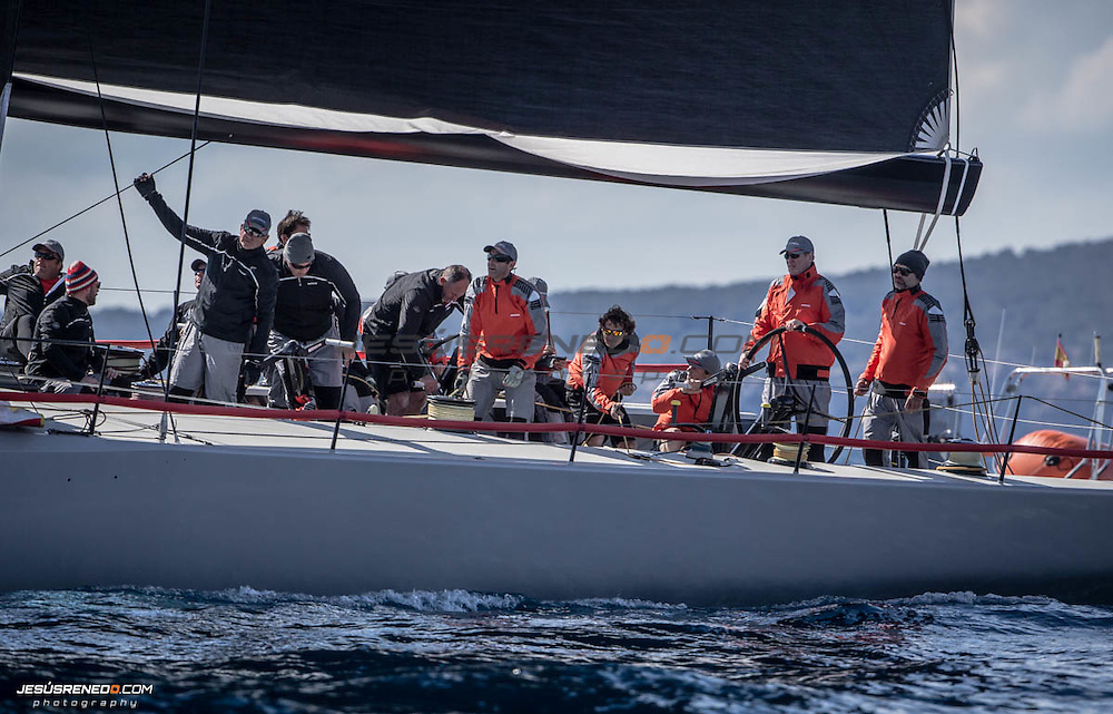 "Maxi 72 ""MOMO "" training in Palma for the 2015 season .©jesusrenedo"""