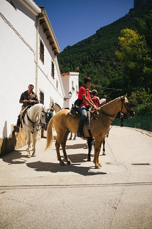 The small Spainish hamlet of La Toba in the Sierras de Cazorla, Segura y Las Villas Natural Park in Jaen, Spain